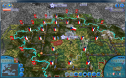 Aggressors screenshots - 3D Turn Based Strategy - Czechoslovakia in a dangerous