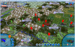 Aggressors screenshots - 3D Turn Based Strategy - China revolt supressing