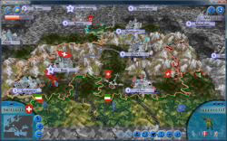 Aggressors screenshots - 3D Turn Based Strategy - Neutral Switzerland