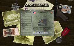 Aggressors screenshots - 3D Turn Based Strategy - New game preparation