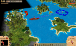 Aggressors screenshots - 3D Turn Based Strategy - Detail of coast