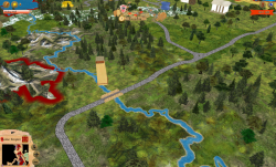 Aggressors screenshots - 3D Turn Based Strategy - Detail řeky