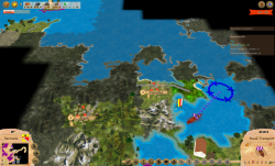 Aggressors screenshots - 3D Turn Based Strategy -