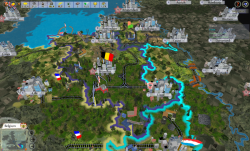 Aggressors screenshots - 3D Turn Based Strategy - Belgium