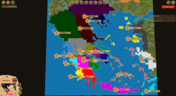 Aggressors screenshots - 3D Turn Based Strategy - The geopolitical map of Ancient Greece