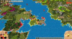 Aggressors screenshots - 3D Turn Based Strategy - Southern Italian Peninsula