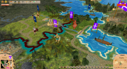Aggressors screenshots - 3D Turn Based Strategy - Expanding Thessaloniki kingdom