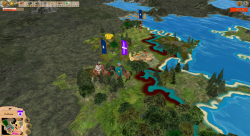 Aggressors screenshots - 3D Turn Based Strategy - Fight of cavalries