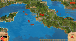 Aggressors screenshots - 3D Turn Based Strategy - Capitol of Roman empire