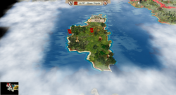 Aggressors screenshots - 3D Turn Based Strategy - Corsica in Roman hands