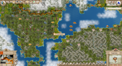 Aggressors screenshots - 3D Turn Based Strategy - Eastern Roman Empire - Top view